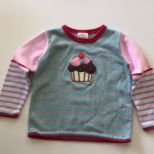 Hanna Andersson 110 cotton sweater girl
